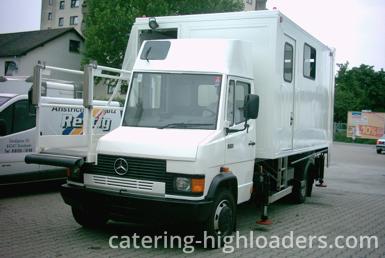 Catering Highloader Mercedes halfsize