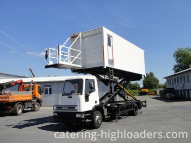 Catering Highloader lifted up