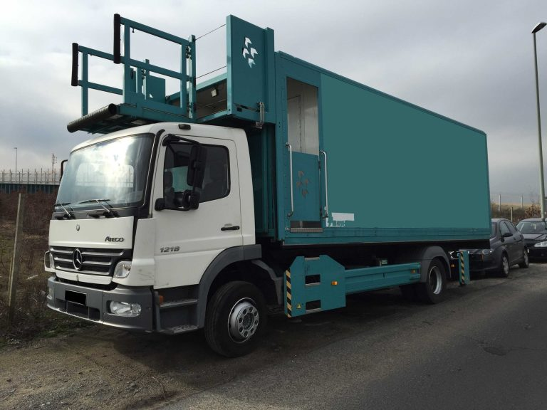 Airport Catering Highloader HTR standing outside