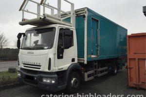 Fullsize Doll Iveco Truck