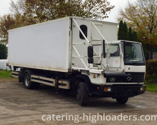 Catering Truck Beilhack halfsize front